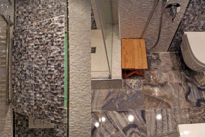Мозаика со скрытым люком