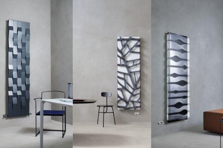 Графичные дизайны радиаторов отопления