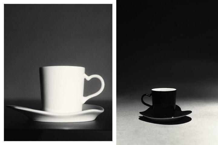 Чайные пары в минималистичном дизайне в двух оттенках