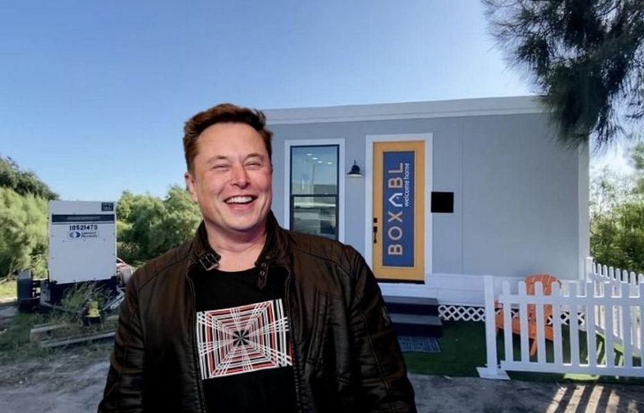 Илон Маск и его новый модульный дом