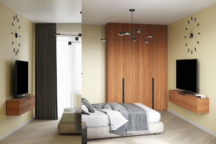 Корпусная мебель из одного деревянного массива