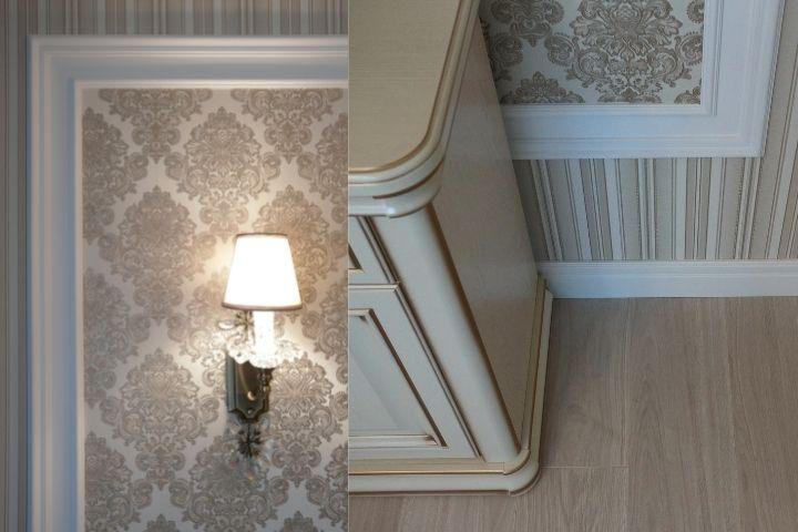 Сочетание деталей интерьера спальни